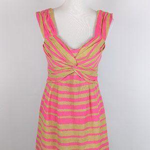 50%!! Nanette Lepore Fun Pattern Sundress Linen